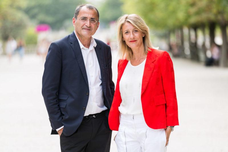 Photo Adama | Jean-Luc Illouz, président & Olivia Vitart, directrice